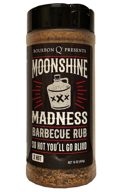 Bourbon Q Moonshine Madness Barbecue Rub, 16oz
