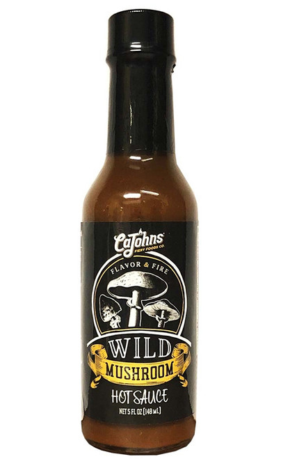 CaJohn's Wild Mushroom Hot Sauce, 5oz.