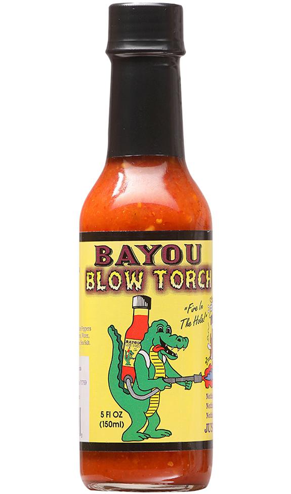 Bayou Blow Torch Hot Sauce, 5oz