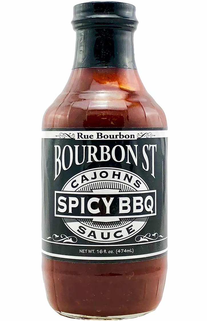 Cajohn S Bourbon Street Spicy Bbq Sauce