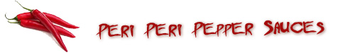 Peri Peri Pepper Hot Sauces