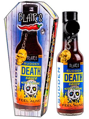 Blair S Sudden Death Sauce W Ginsing
