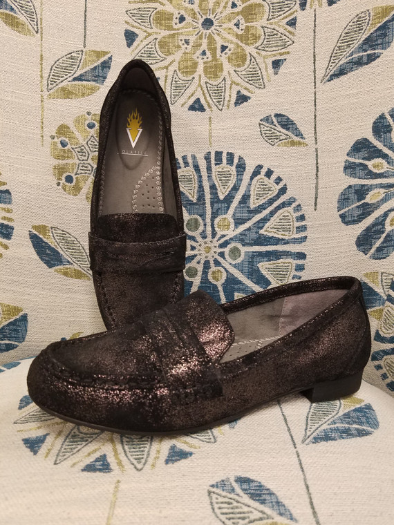 Womens Lucienne Black Loafer Shoe