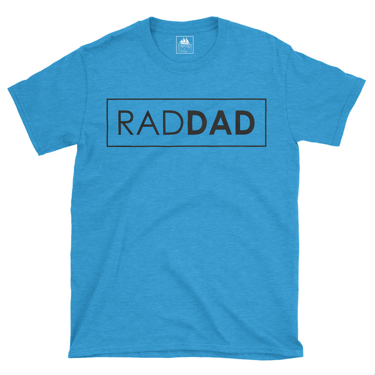 Great fit for him! Tagless cotton t-shirt!