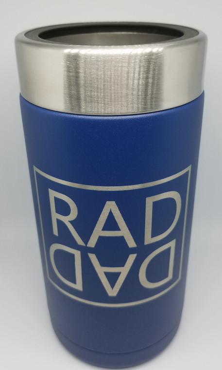 RAD DAD RTIC Blue Craft Can/Bottle Insulated Koozie