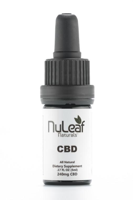 NuLeaf Naturals 100% USDA Organic Hemp Tincture
