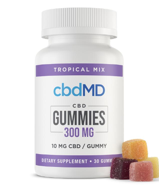 CBDMD Tropical Gummies