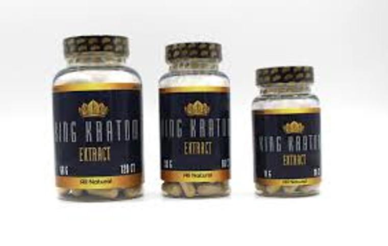 King Kratom Extract Capsules