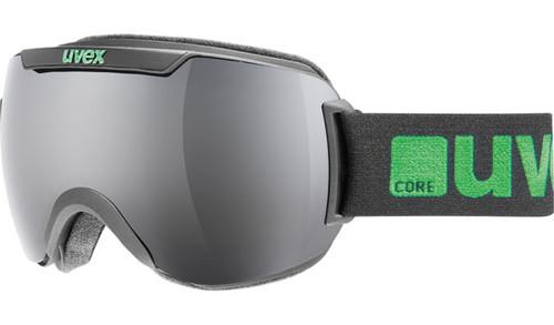Uvex DH 2000 FM Black Full Mirror Goggle