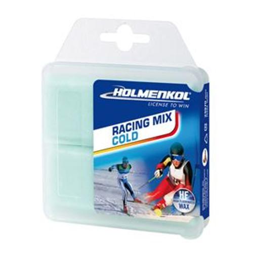 Holmenkol Racing Mix Cold, High Fluro 70 gram bar