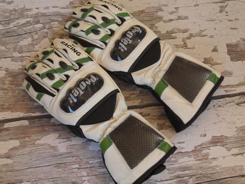 ProTek Green and White Stripe Mitten