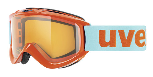 UVEX FX RACE GOGGLE NEON ORANGE