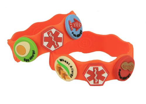 Food allergy wristband kit