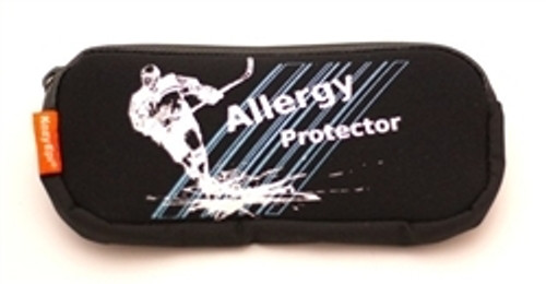 Be sporty and safe.  Holds 2 EpiPens and single dose Benadryl.