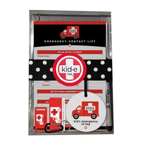 Kid-e Emergency Medical ID Gift Set