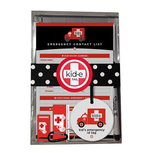 Kid-e Emergency Medical ID Gift Set