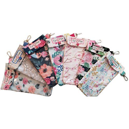 epi Med Pouch-Floral and Paisley