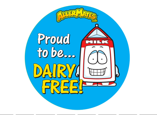Proud to be DAIRY FREE!