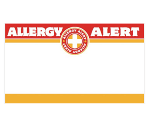 Allergy Alert Stickers (25)