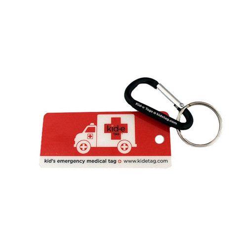 Kid-e Tag Key Tag  (Emerg. ID Tags)