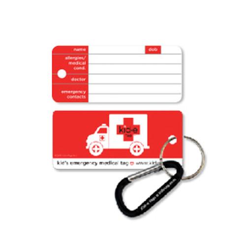 Kid-e Tag Key Tag  (Emerg. ID Tags)