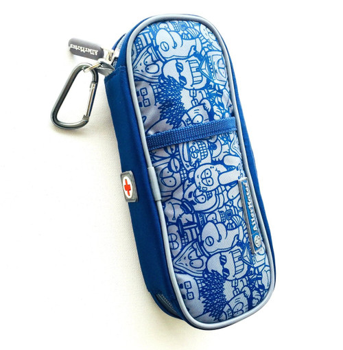Medicine Carrying Case-Busy Boy Blue