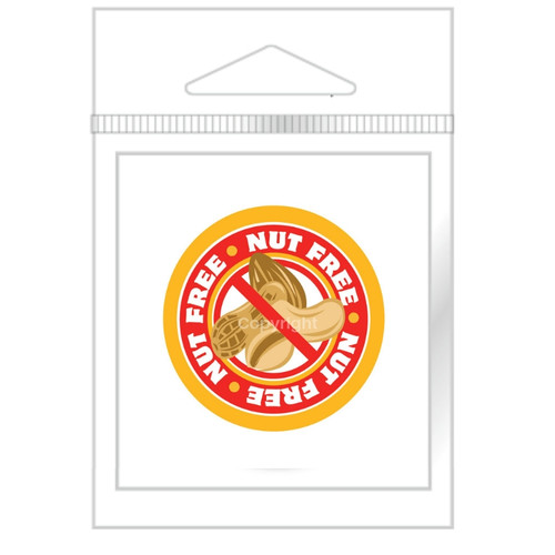 Nut Free Stickers (26)
