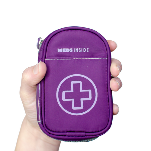 """KATE"" Small Medicine Case for Auvi-Q or Asthma Inhaler"