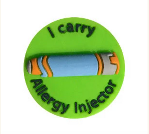 I Carry Allergy Injector Charm
