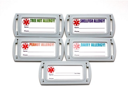 Allergy ID Tag, Belt Accessory