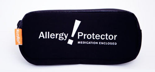 Designed to carry 2 EpiPen® or other brand epinephrine auto-injectors & single dose Benadryl®