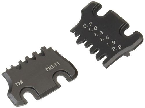 PAD-11S crimping tool die plate set (S)