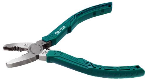 PZ-58 neji-saurus screw pliers (combi style, green)