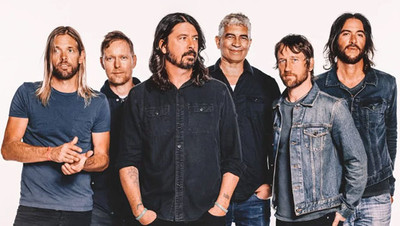 Foo Fighters and a Sea of Bodies