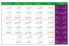 Gateway to Arabic Verb Conjugation Flashcards (Set Two)