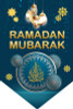Welcome Ramadhan Flags Green / Banners / Bunting / Decoration / Accessories / Ramadan