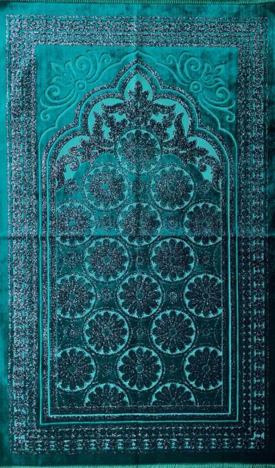 Prayer Rug Luxury with Turkish Cutwork Design (21716)