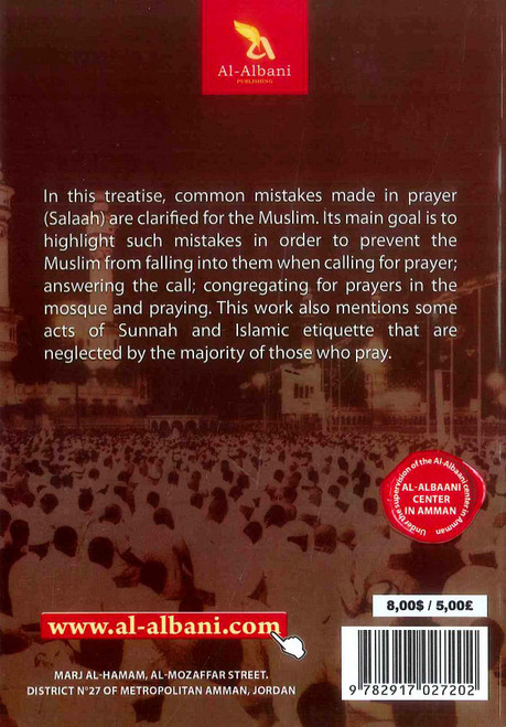 A Summary of the Mistakes Commonly Made in Prayer