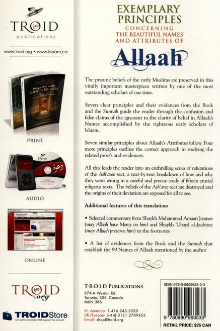Exemplary Principles Concerning The Beautiful Names Of Allah