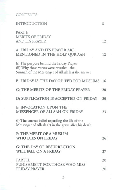 Etiquettes Of A Muslim On Friday