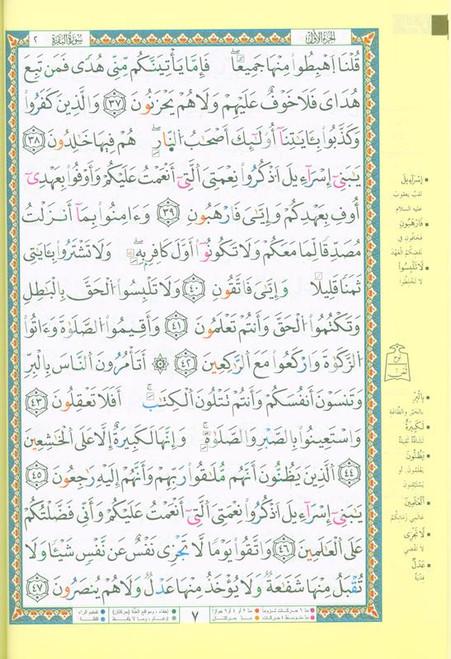 Tajweed Quran in Douri Reading (22440)