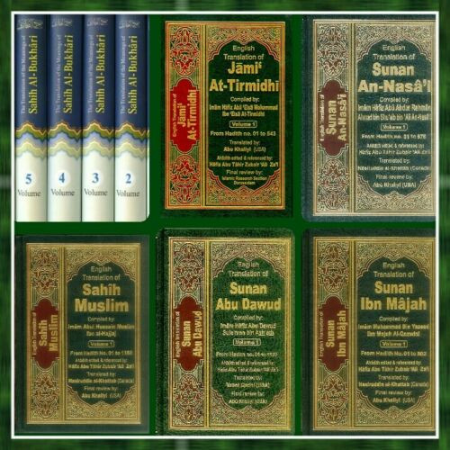 Authentic Hadith Collection,Sahih AlBukhari,Muslim,ibn majah,Tirmidhi,Nisai, Abu Dawood