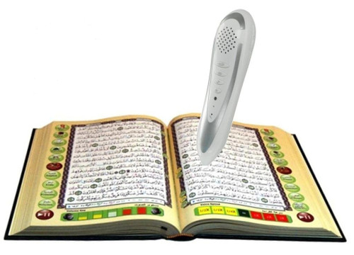 Digital Pen Reader with Tajweed Quran (Uthmani Script) (Medium size 14x19)