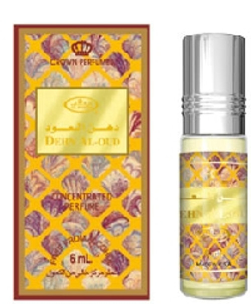 Dehn Al-Oud Concentrated Perfume-Attar (6ml Roll-on)