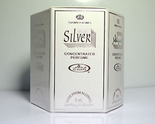 Silver Concentrated Perfume-Attar (6ml Roll-on)