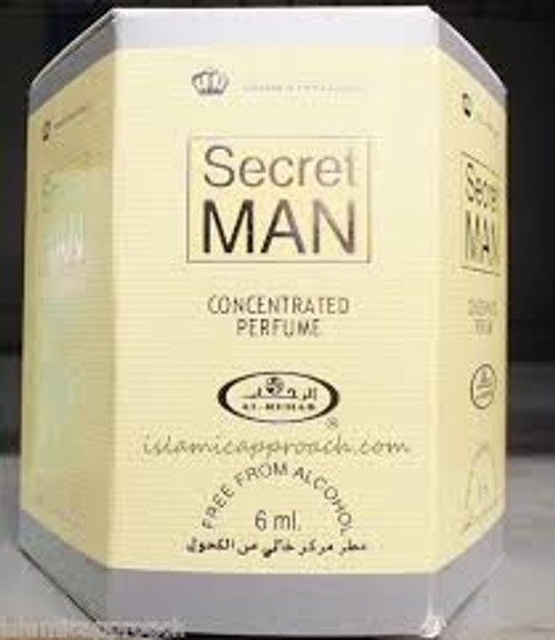 Secret Man Concentrated Perfume-Attar (6ml Roll-on)