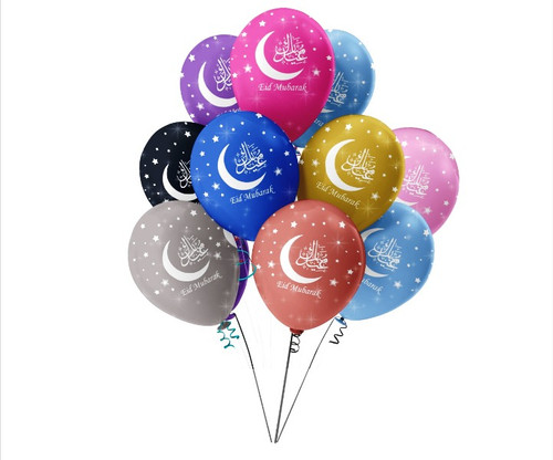 Eid Mubarak Balloons / Decorations / Accessories / Happy Eid / Ramadhan