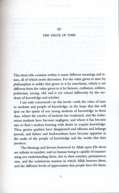 The Value of Time (Shaykh Abd al-Fattah Abu Ghuddah)