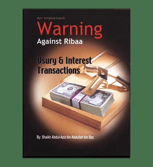 An Important Warning Against Ribaa