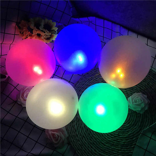 Eid Mubarak Light/Glow Balloons (pack of 5)
